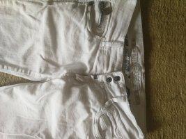 Timezone Pantalon taille basse blanc