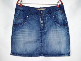Timezone Gonna di jeans azzurro