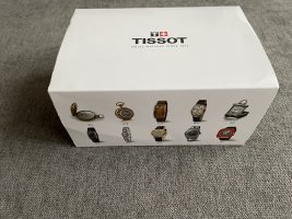 Tissot Reloj analógico color plata-blanco vidrio