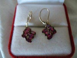 Gold Earring violet