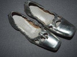 Tod's Ballerina lichtgrijs Leer