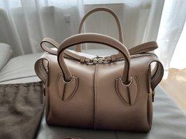 Tod's D Styling Mini Bag D-Tasche aus schattiertem Leder mit Schultergurt (NEW)