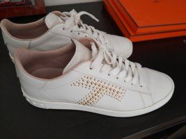 Tod's Lace-Up Sneaker white-gold-colored