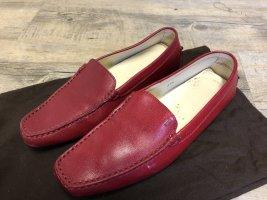 Tod's Loafer rod Nappa Gr. 37 1/2