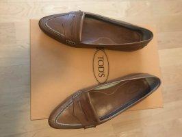 Tod's Loafers - hellbraun