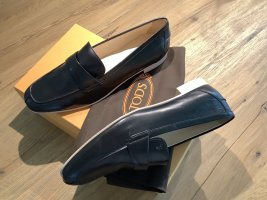 Tods Moccasins black leather