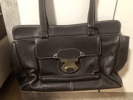 Tod's Carry Bag black brown leather