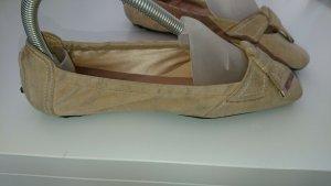 Tods Ballerinas Gr. 37,5, Beige, NP 399.-€/Zustand: sehr gut!!! Exclusiv!!!