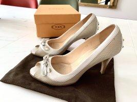 Tods Peeptoe Schuhe in Größe 36