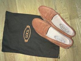 Tod's Slip-on Shoes dark orange