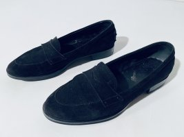 Tod's Heel Pantolettes black leather