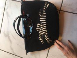 Longchamp Handbag black-white