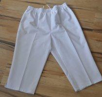 Pantalon capri blanc polyester