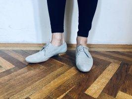 Tolle Dandy Oxford Rauleder Schnürschuhe von Zara