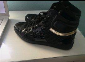 Tolle Guess sneaker wie neu 41 schwarz lack