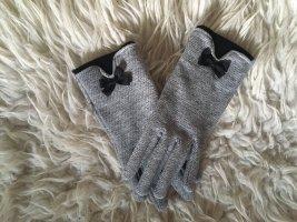Gloves grey-black