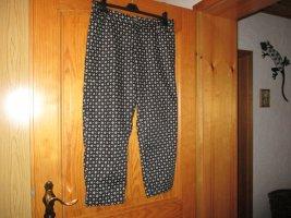 C&A Spodnie 7/8 biały-czarny
