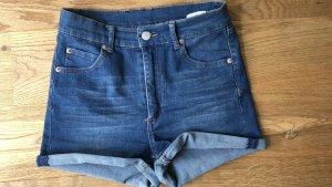 Cheap Monday Spijkershort blauw