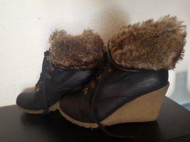 Tolle keilabsatz Boots  super warm Grösse 40