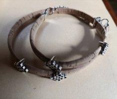 Tolle Kette oder Doppelarmband aus Kork