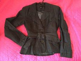 Tolle Leinen Jacke Schwarz von Vero Moda. Größe 40
