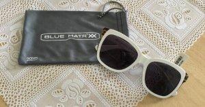 Glasses white-light brown