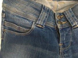 Pepe Jeans Jeans met rechte pijpen staalblauw-korenblauw Katoen