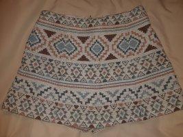 Zero Base Falda pantalón marrón-azul aciano