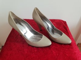 Prego Pointed Toe Pumps light grey