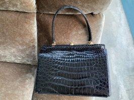 Tolle schwarze Vintage Handtasche aus den 60ger Jahren! Unikat