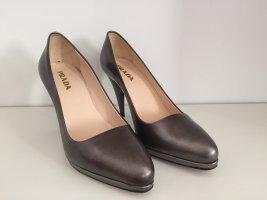 Tolle silbergraue High Heels von Prada in Größe 36,5 - Nur einmal getragen.