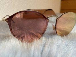 Ray Ban Bril roségoud-stoffig roze