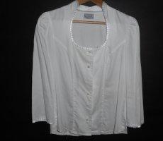 waldorff Folkloristische blouse wit Katoen