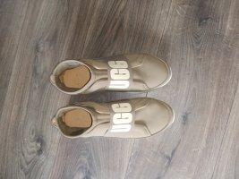 UGG Wedge sneaker wit-olijfgroen