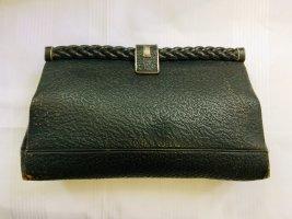 tolle Vintage Echtleder Handtasche