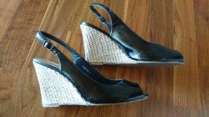 Tolle Wedges / Keil-Sandaletten von NEW LOOK - schwarz
