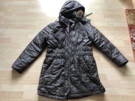 tolle Winterjacke von Cecil Gr. XL = 44/46 grau-braun wneu