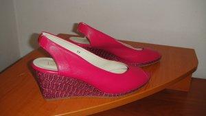 Ae boutique BY ELEGANCE S.A. PARIS Sandales confort multicolore cuir