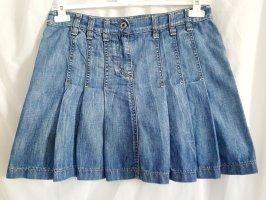 Toller Falten-Jeansrock von Esprit aus Blue Denim in Größe 38