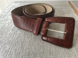 Clan Leather Belt cognac-coloured-brown