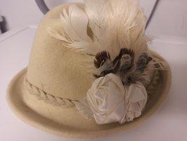 Vilten hoed veelkleurig