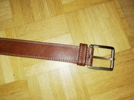 Chain Belt brown leather