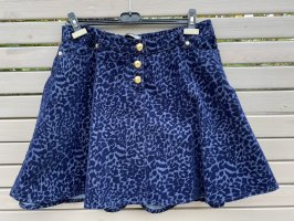 Moschino Miniskirt black-blue