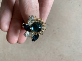 Anton Heunis Statement ring blauw-brons