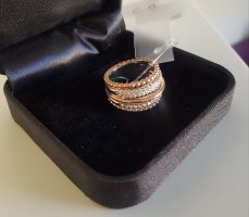 Silver Ring rose-gold-coloured
