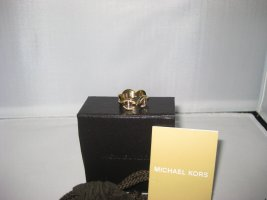 Michael Kors Statement Ring white-gold-colored