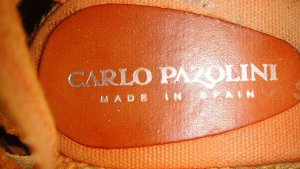 Carlo Pazolini Sandalo alto con plateau multicolore Cotone