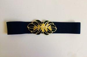 Cinturón pélvico azul oscuro-amarillo limón