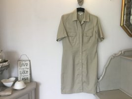 Best Connections Shirtwaist dress gold-colored cotton