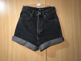 Tolles high waist kurze Jeansshorts Jeans kurz Hose hot pants